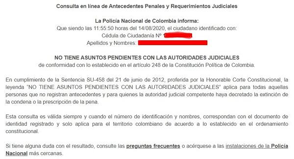 Antecedentes Judiciales  Como consultar en línea ...