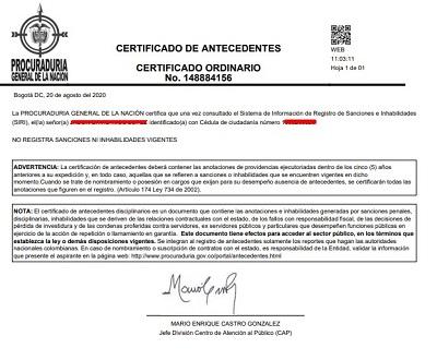 Descargar Certificado De Medidas Correctivas En Pdf + My ...